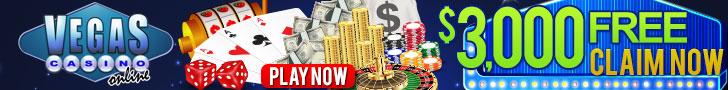 $3,000 Welcome Bonus Vegas Casino Online